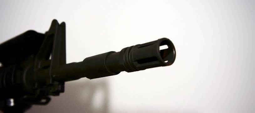 Une arme d'airsoft (illustration).