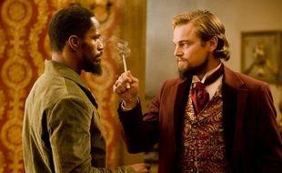 Jamie Foxx et Leonardo DiCaprio dans «Django Unchained».