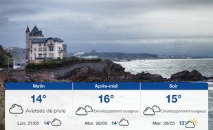 Météo Biarritz: Prévisions du dimanche 26 mai 2019