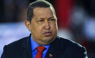 Hugo Chavez le 17 janvier 2012.
