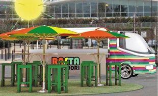 Le Rasta Tandoori Bus avait été présenté lors du salon du Sirha, à Lyon, en janvier.
