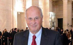 L'ex-gestionnaire de fortune de Liliane Bettencourt, Patrice de Maistre, au tribunal de Bordeaux le 28 janvier 2015