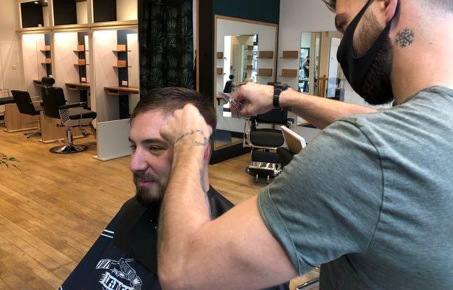 Gaël Stiel est le premier coiffeur à s'installer dans l'espace de coworking Markus paris, à Lille.