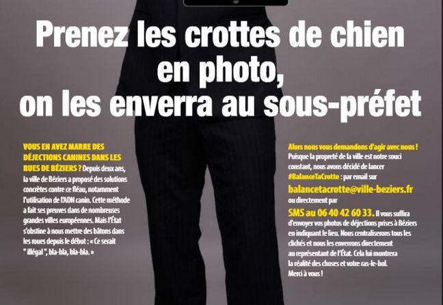 Un extrait du journal de Béziers.