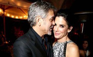 George Clooney et Sandra Bullock.