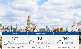Météo Caen: Prévisions du samedi 19 juin 2021