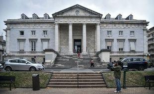Le tribunal de Pau, dans les Pyrénées Atlantiques, en octobre 2019.