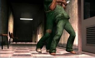Une scène de meurtre à la seringue dans le jeu de Rockstar Games