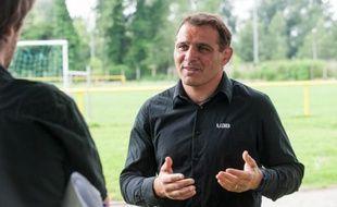 Raphaël Ibanez, le manageur de l'Union Bordeaux-Bègles, au mois de juin 2011.