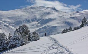 La station de ski Puigmal, dans les Pyrénées
