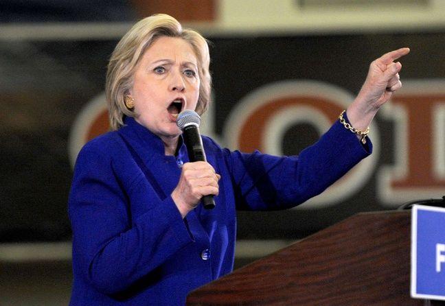Hillary Clinton, le 2 juin 2016 dans l'Etat du New Jersey.