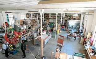 Ancienne usine d'allumettes, le Comptoir de la Victorine appartient à la ville depuis 2008.