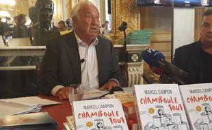 Marcel Campion a lancé le 17 octobre sa candidature à la mairie de Paris.