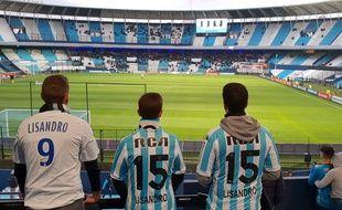 Hugo, Rico et Thibault ont pu assister en août dernier à la rencontre entre le Racing Club de Lisandro et River Plate (0-0).