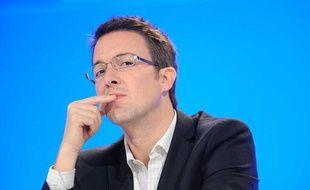 Guillaume Peltier, lors d'un séminaire pour les cadres de l'UMP, le 26 novembre 2011 à Paris.