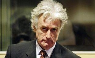 Radovan Karadzic, un mois après son arrestation en juillet 2008.