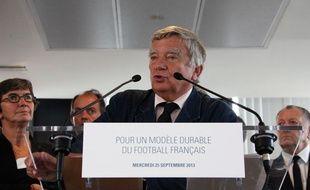 Jean Glavany, le 25 septembre 2013