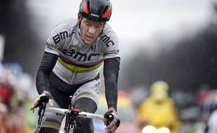Le cycliste belge Philippe Gilbert, le 6 mars 2013, sur Paris-Nice.