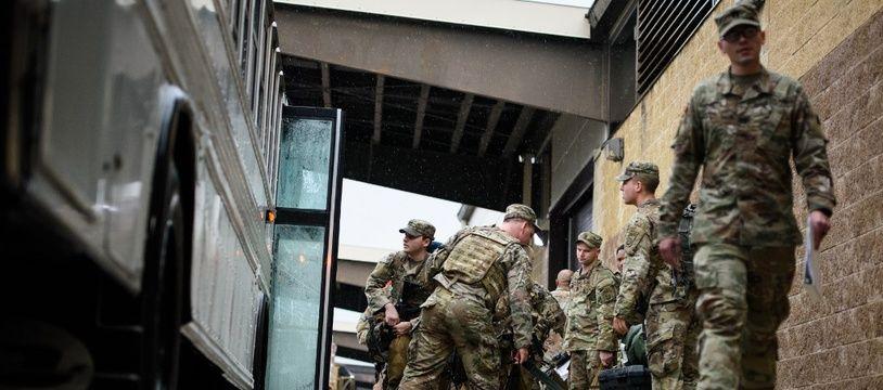 Des soldats américains aux Etats-Unis sur le point d'être déployés au Proche-Orient (image d'illustration).