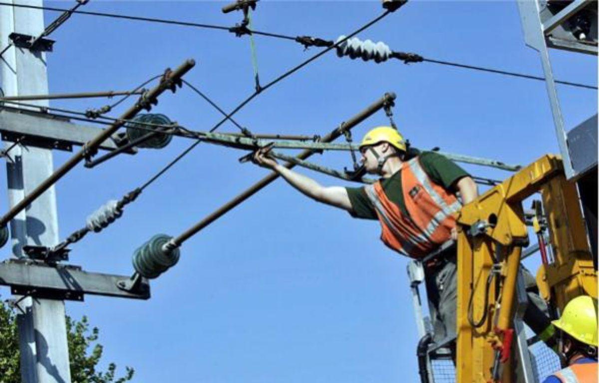 Le vol de câbles de cuivre a atteint une «ampleur phénoménale», selon Guillaume Pepy, le président de la SNCF. –  B. CHIBANE / SIPA