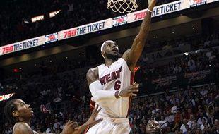 LeBron James, auteur de 33 points cette nuit face à San Antonio