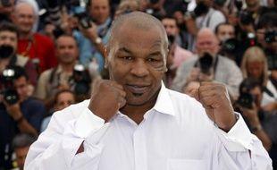 L'ancien boxeur américain Mike Tyson, le 17 mai 2008 au festival de Cannes.
