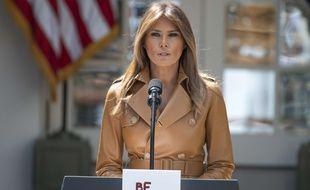 La Première dame des Etats-Unis, Melania Trump, le 7 mai 2018.