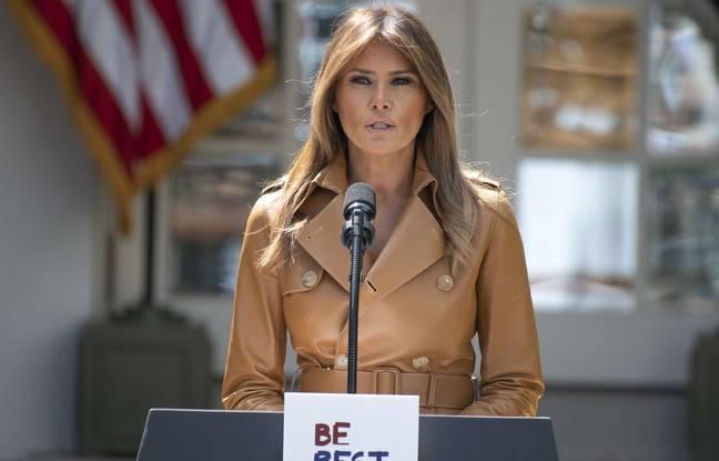 Etats-Unis: Melania Trump est de retour à la Maison Blanche