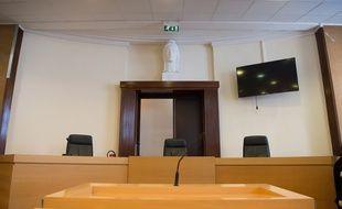 Une salle d'audience du tribunal de Marseille.