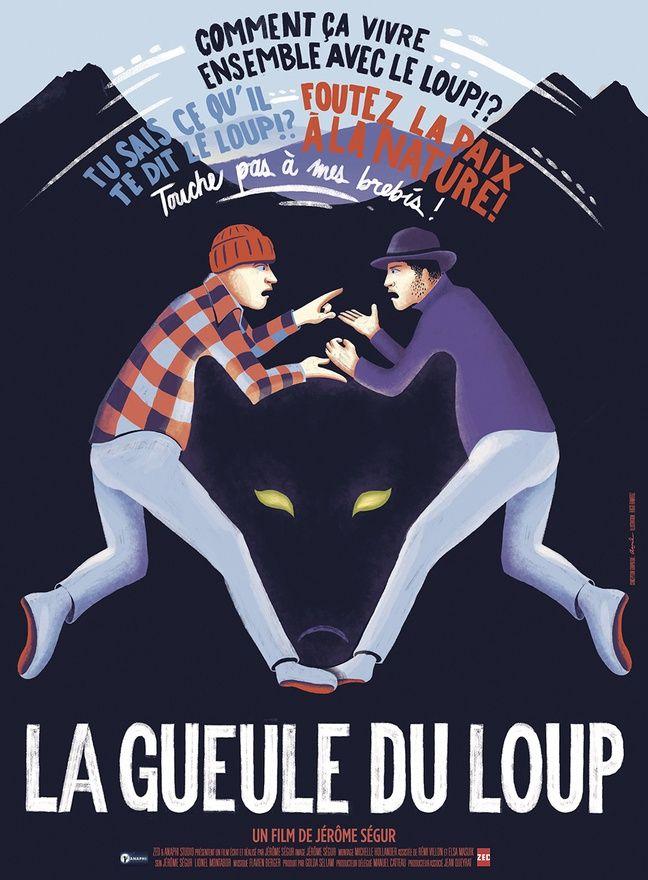 L'affiche du film La gueule du loup
