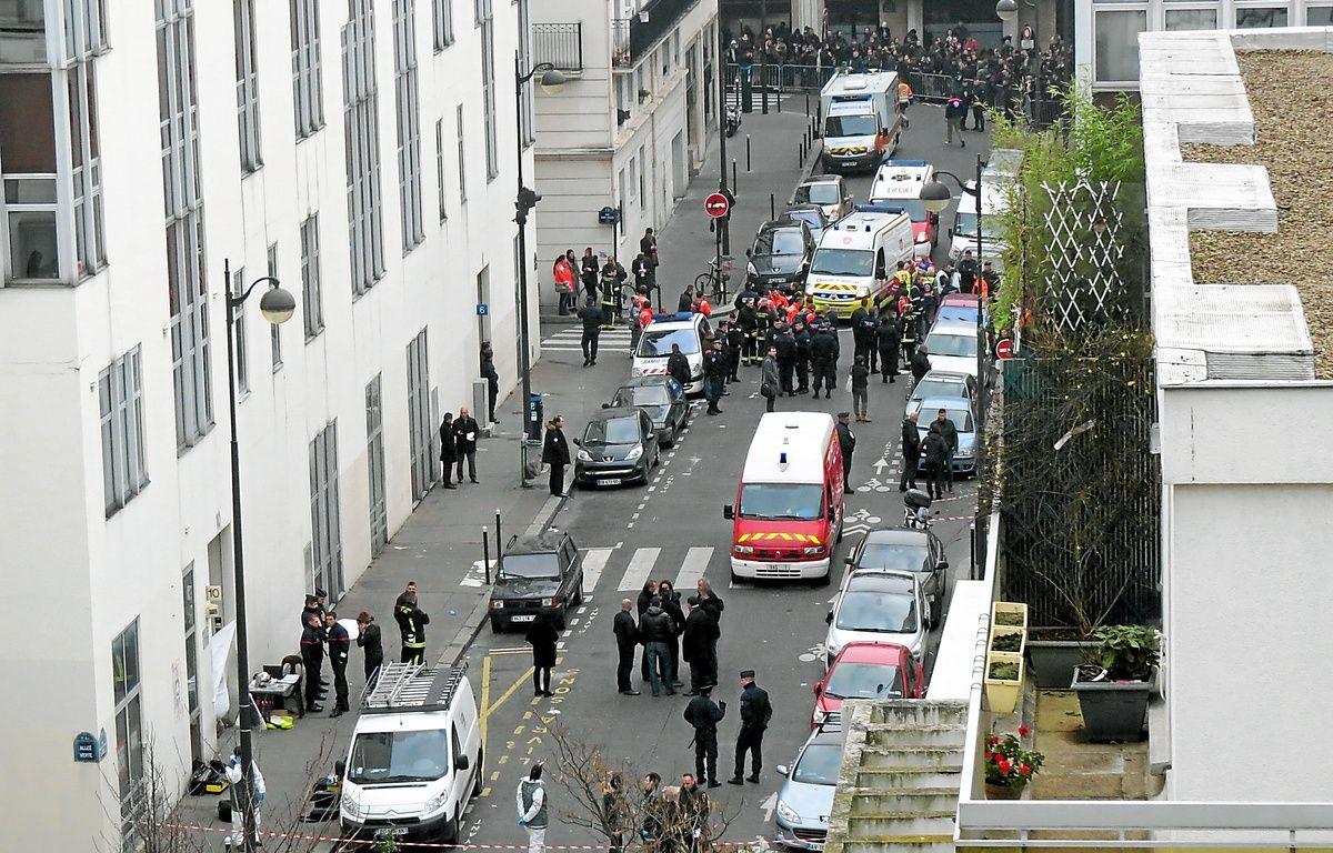 L'attaque s'est déroulée rue Nicolas-Appert, dans le 11e arrondissement. – M. Pierron/20 Minutes