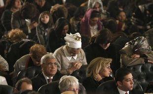 Les chrétiens d'Egypte célébraient le Noël copte dans un climat marqué par les violences contre leur communauté au cours de l'année écoulée, et les craintes face à la domination des islamistes aux élections.