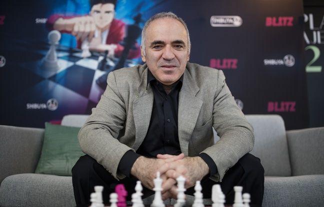 Le légendaire champion d'échecs sera l'un des personnages de la série de livres