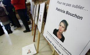 Lors de la marche silencieuse en hommage à Patricia Bouchon, la joggeuse tuée en février 2011