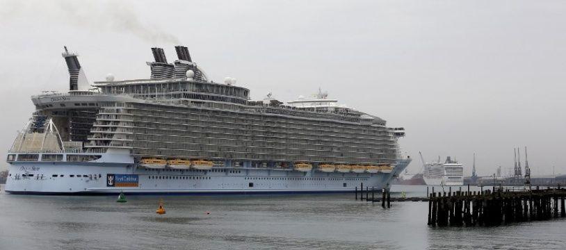 L'«Oasis of the Seas» a été victime d'une épidémie de gastro-entérite.