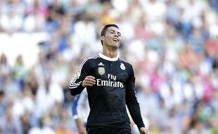 Cristiano Ronaldo avec le Real Madrid le 17 mai 2015.