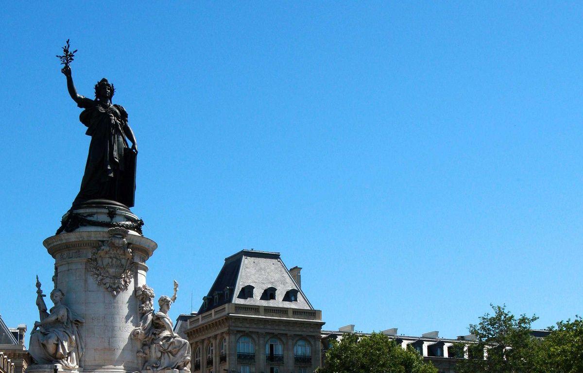 La statue de la place de la République à Paris. – CHAUVEAU/SIPA