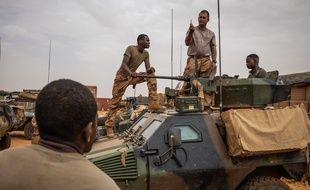 Des soldats français dans le nord du Mali le 22 avril 2019.