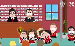 South Park version Espoirs belges