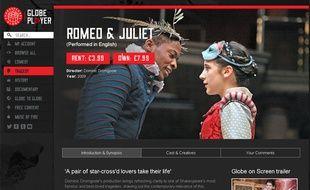 La plateforme Globe Player permet de visionner des pièces de Shakespeare à la demande.