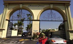 La maison de production américaine Paramount Pictures à Hollywood (Etats-Unis).