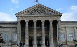 Un tribunal, en France.  (illustration)