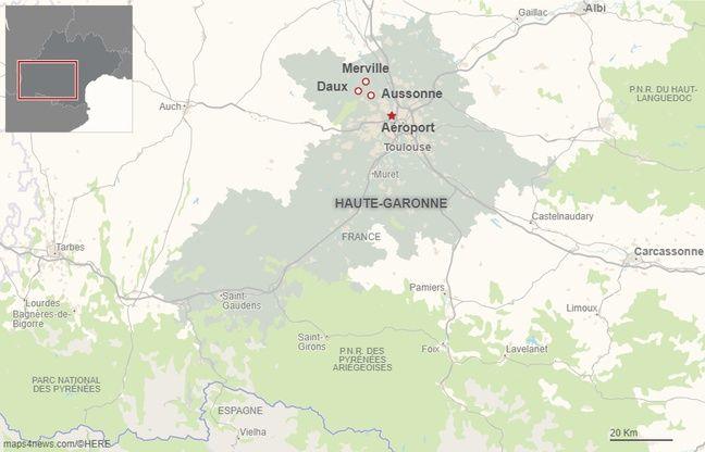 Les communes de Daux, Merville et Aussonne sont concernées par le projet de modification de la trajectoire des avions de l'aéroport Toulouse-Blagnac.