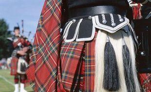 Illustration - Kilt écossais