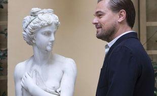Leonardo DiCaprio à la présentation de «The Revenant» à Rome le 16 janvier 2016