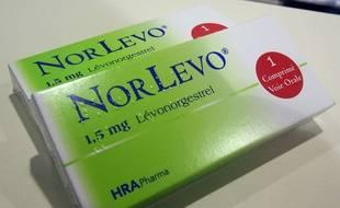 Une boîte de Norlevo en 2013