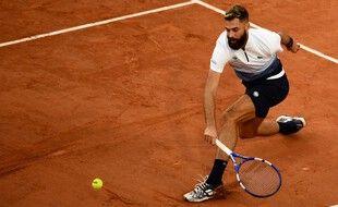 Benoît Paire a passé sans encombres le premier tour de Roland-Garros, le 27 septembre 2020.