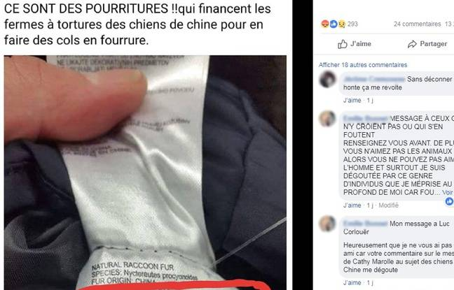 L'appel au boycott contre Intersport et Sport 2000 relayé sur Facebook.