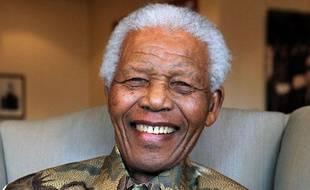 Nelson Mandela, le 26 février 2012.