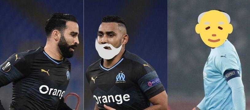 Adil Rami, Dimitri Payet et Steve Mandanda auront 34, 33 et 35 ans l'an prochain.